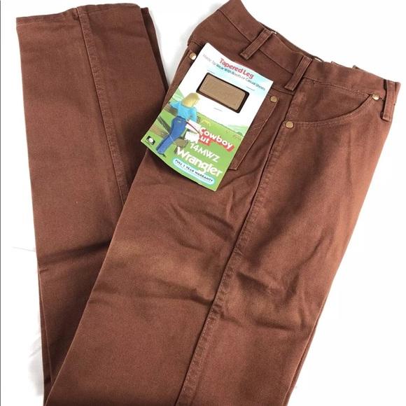 0463c131 Wrangler Jeans | Vintage Cowboy Cut Tapered Leg 14mwz | Poshmark